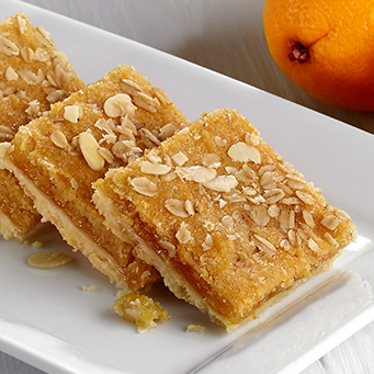 Vegan Apricot, Orange & Almond Slice