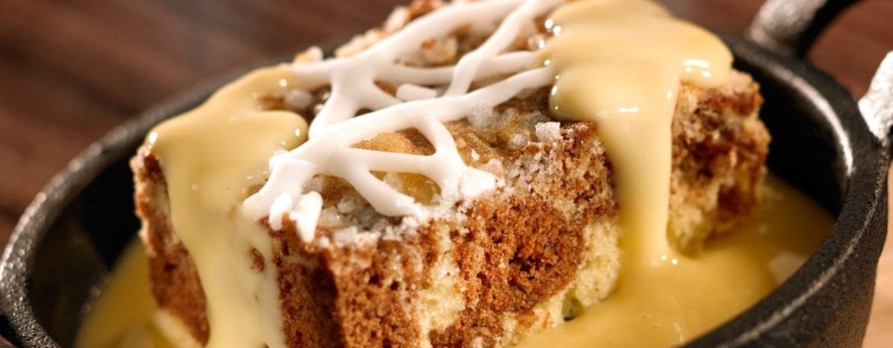 Cinnamon Swirl Tray Cake