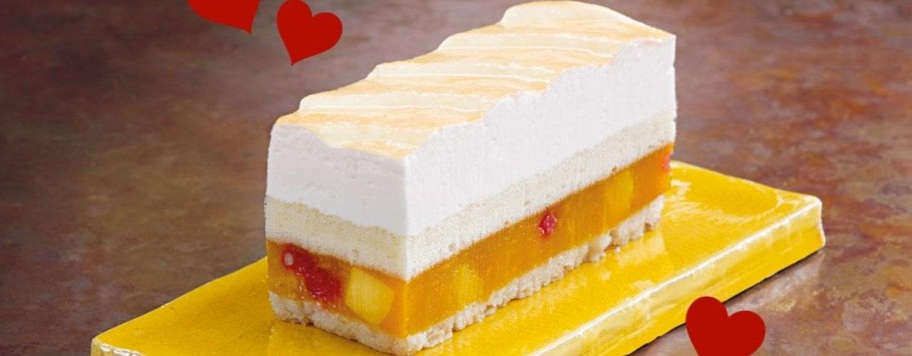 Mango and Passion Fruit Entremets