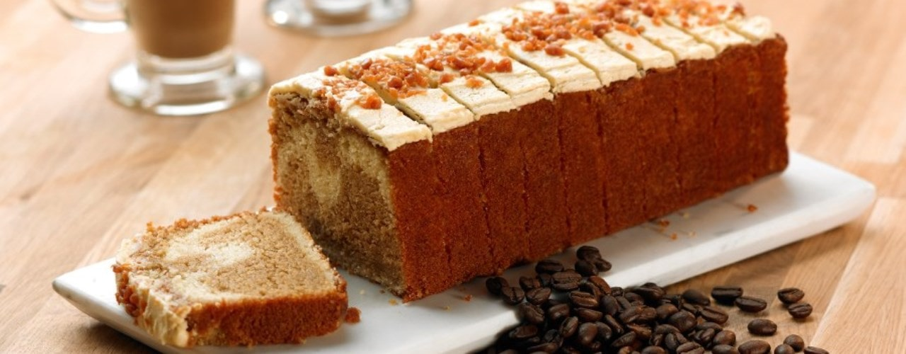 Salted Caramel Latte Loaf