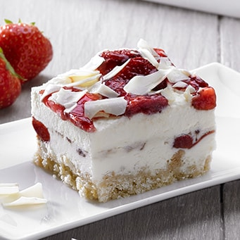 Strawberry & Clotted Cream Cheesecake