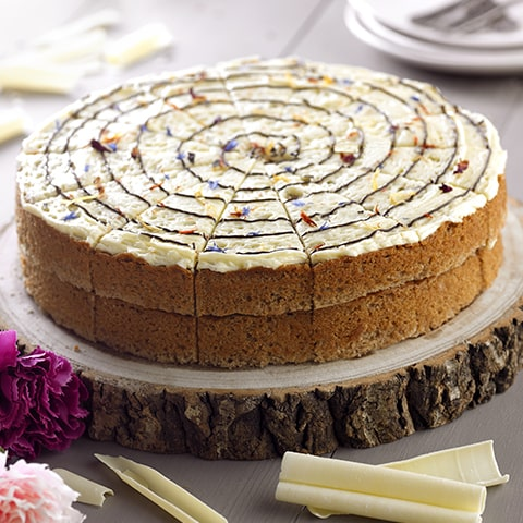 White Chocolate & Spiced Chai Cake